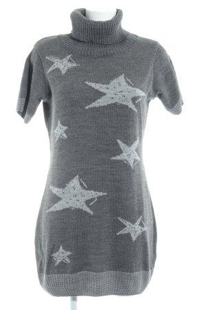 Robe en laine Motif d'étoiles style décontracté