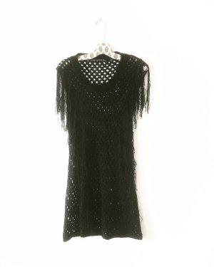 Vintage Knitted Dress black