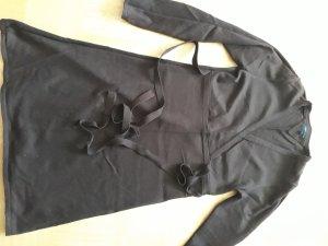 Tommy Hilfiger Vestido de lana marrón oscuro