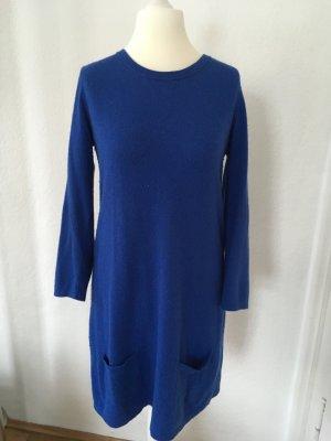 Benetton Vestido de lana azul
