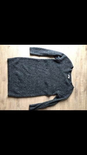 Hollister Vestido de lana negro-gris