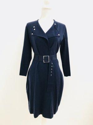 Wollkleid von Karen Millen, Gr. S, dunkelblau