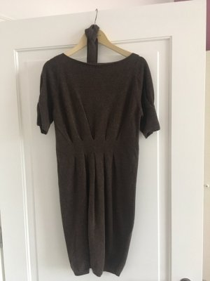 Stefanel Knitted Dress brown new wool