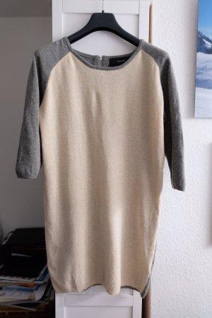 Wood Wood Woolen Dress natural white-grey