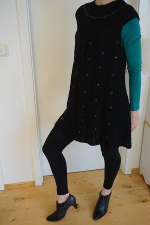 Wollkleid, Winterkleid warm Gr. S/M mit Leggings als Geschenk