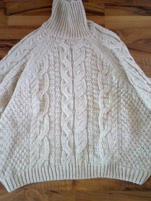 H&M Jersey de lana marrón arena-marrón claro