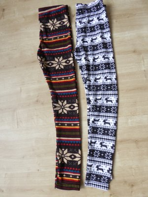 Wollleggings braun Gr. S  *** NEU ***