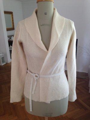 Esprit Cache-cœur en tricot blanc cassé-crème