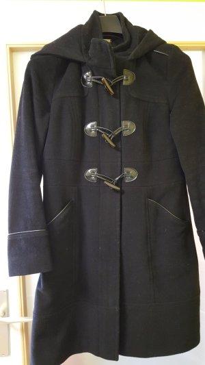 Comma Duffel Coat black mixture fibre