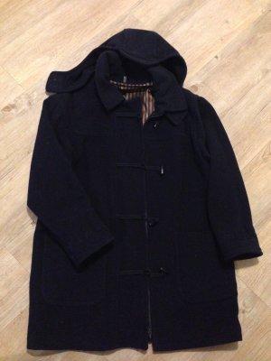 Wollen jas donkerblauw