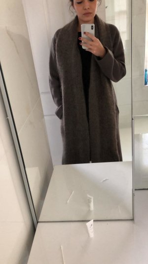 Zara Manteau en laine multicolore laine mérinos