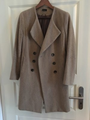 Benetton Cappotto in lana color cammello Lana