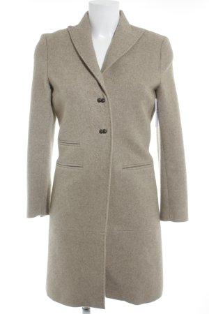 Wool Coat beige casual look