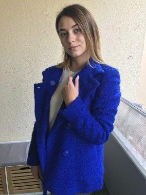 Wollmantel blau Mötivi