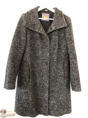 Hugo Boss Manteau en laine noir-gris