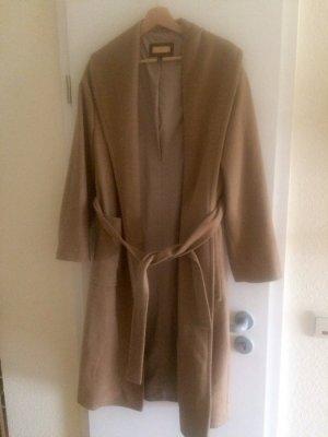 Wollmantel Camel coat oversized Mango
