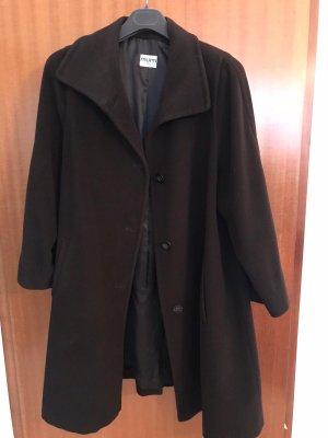 Thomas Albrecht Wool Coat grey brown