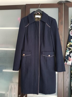 de.corp by Esprit Wool Coat dark blue