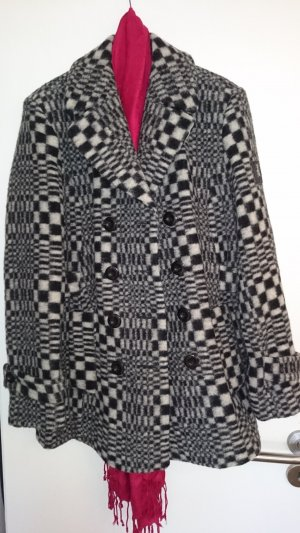 Frieda & Freddies New York Cappotto in lana multicolore Cotone