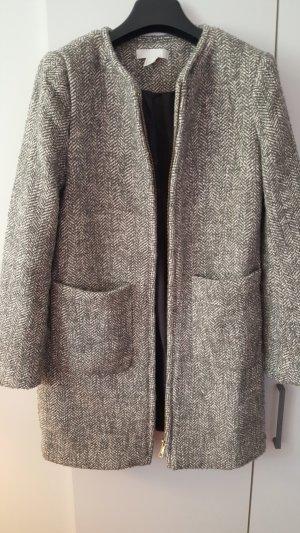 H&M Manteau en laine gris clair-gris