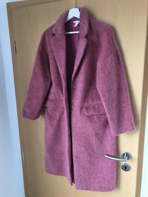 H&M Manteau en laine rose