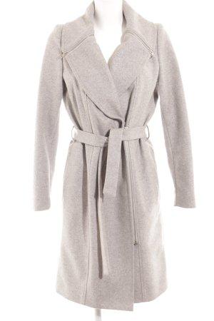 Wool Coat light grey casual look