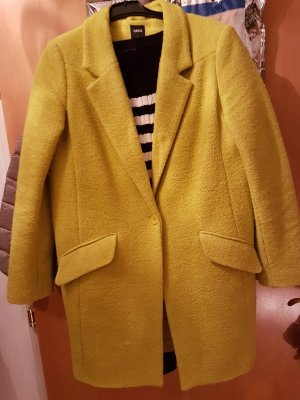 Wollmantel in gelb von OASIS