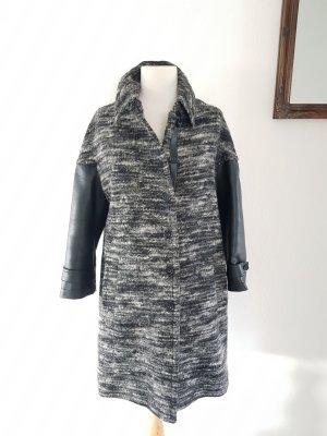 Janina Wool Coat dark grey wool
