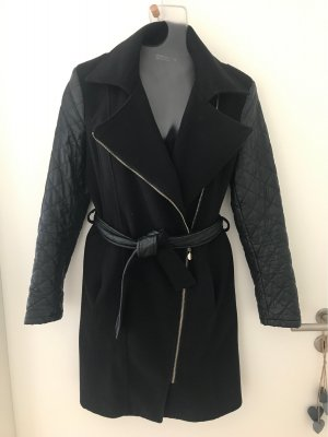 Rinascimento Veste en laine noir-doré