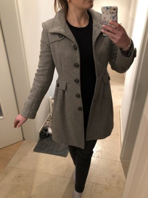 Mango Wool Coat grey-light grey
