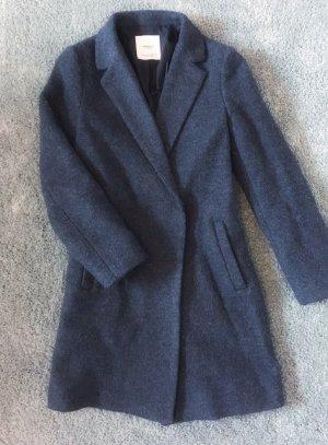 Mango Manteau en laine gris anthracite-gris foncé laine