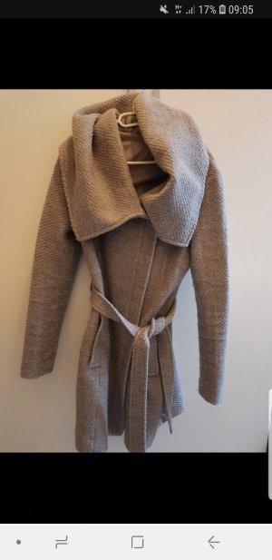 Promod Wool Jacket light grey-grey