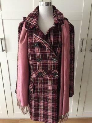 Esprit Abrigo de lana multicolor
