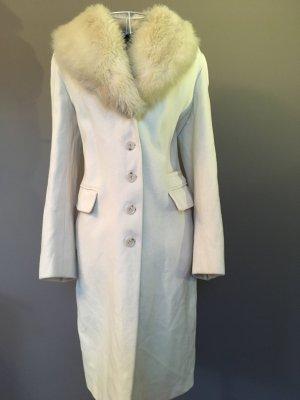 Christian Berg Wool Coat natural white