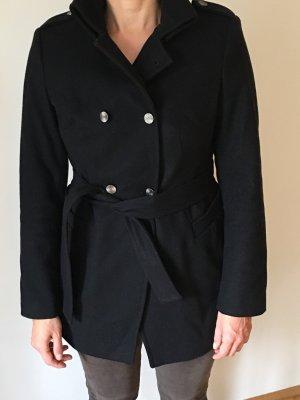 Caractère Cappotto in lana nero
