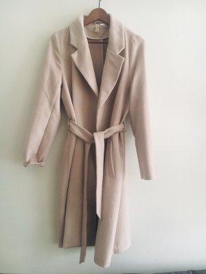 H&M Manteau en laine vieux rose