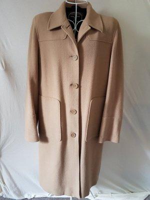 s.Oliver Wool Coat beige-camel wool