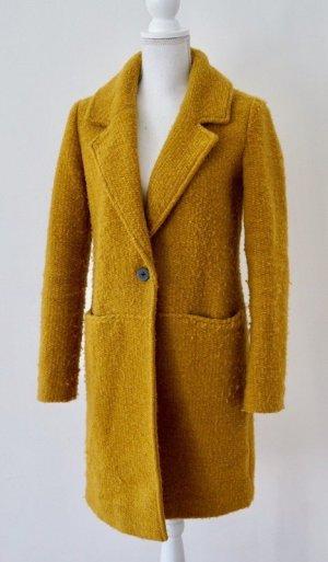 Esprit Cappotto in lana giallo scuro-giallo