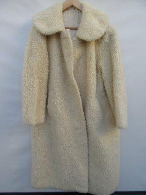 Wollmantel true Vintage Retro Gr. XL beige Damen 60er Jahre