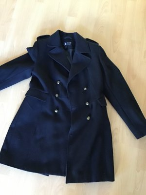 Andy Warhol by Pepe Jeans London Wool Coat black