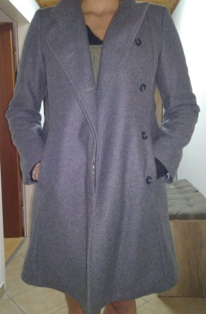 Benetton Wollen jurk grijs
