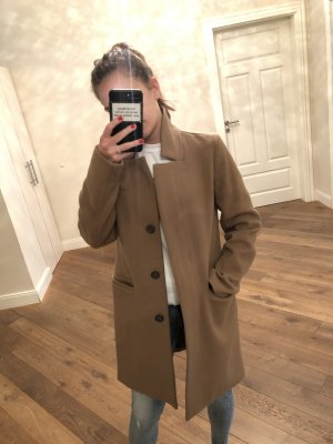 Closed Wool Coat multicolored