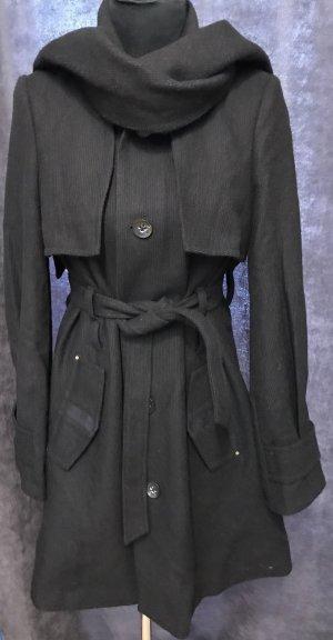 Diesel Wool Coat black