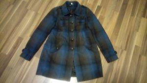 H&M Abrigo de lana petróleo-marrón oscuro Lana