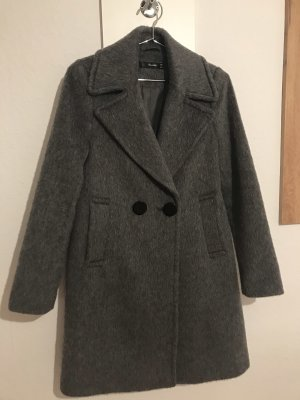 Hallhuber Cappotto in lana antracite