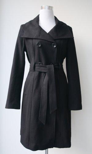 Wollmantel von Marie Lund in schwarz in Größe 36
