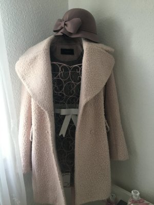 Reserved Wool Coat rose-gold-coloured wool