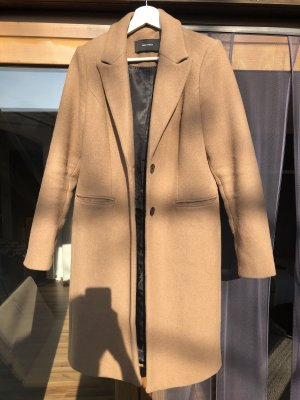 Vero Moda Manteau en laine brun