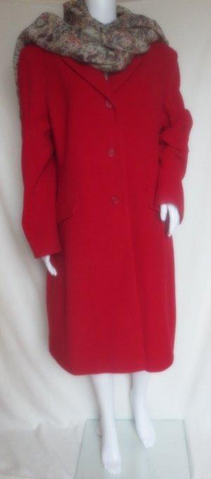 Wool Coat red wool