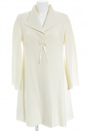 Wool Coat natural white romantic style